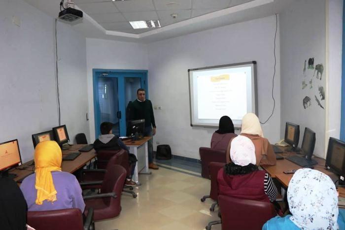 أنشطة أجازة نصف العام بمكتبة مصر العامة بالزقازيق