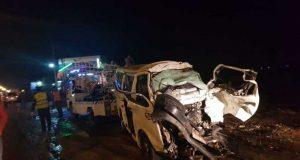 مصرع سيدة وطفل وإصابة 7 آخرين في حادث بالشرقية