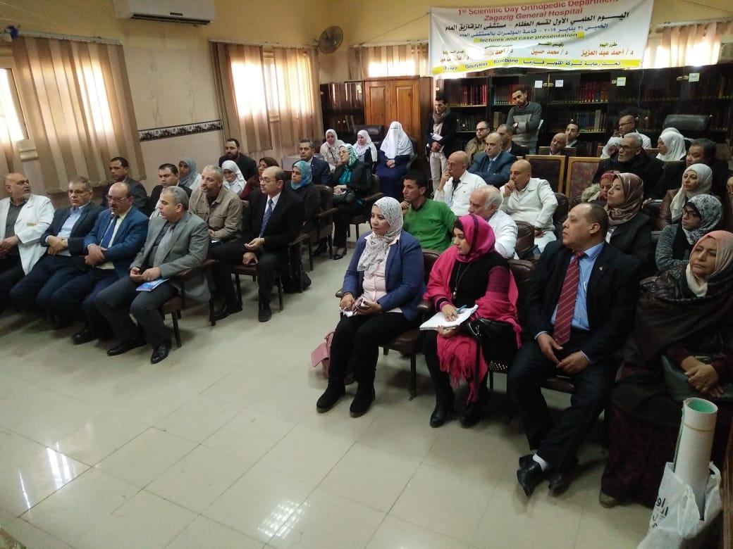 وكيل صحة الشرقية ورئيس الطب العلاجي يزوران مستشفى منيا القمح والزقازيق