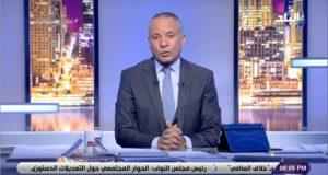 أحمد موسى يبكي على الهواء بسبب عيد الأم