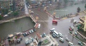أمطار خفيفة تسقط على محافظة الشرقية