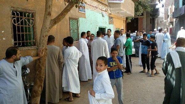 أهالي «عرب سرحان» بالزقازيق يؤدون صلاة الجمعة بدون خطبة
