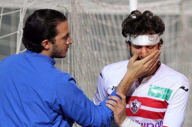 إصابة ثنائي الزمالك قبل مباراة الأهلي تربك الجماهير