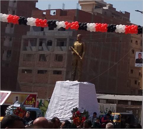 افتتاح ميدان الشهيد «أحمد المنسي» بمنيا القمح