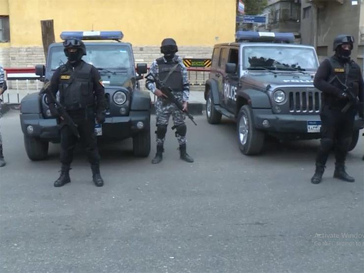 الداخلية تعلن إصابة ضابط ومقتل 7 إرهابيين في الجيزة
