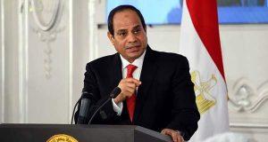 السيسي يؤكد دعم العراق لوحدة وسلامة أراضيها