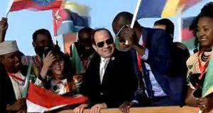 السيسي يفتتح فعاليات ملتقى الشباب العربي الأفريقي