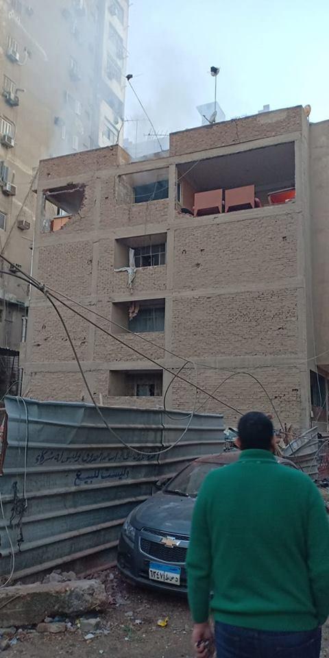 انفجار أنبوبة بوتجاز في شقة بالزقازيق تثير ذعر المواطنين