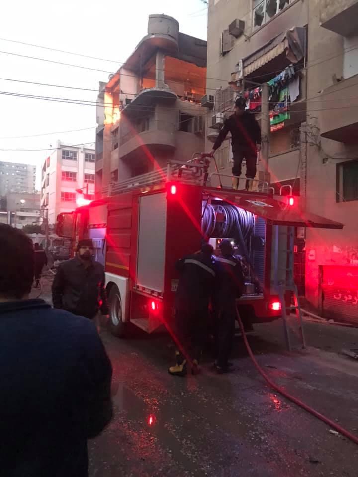 انفجار شديد في شقة بالزقازيق يثير ذعر المواطنين