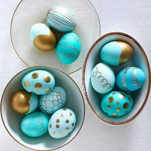 تلوين البيض