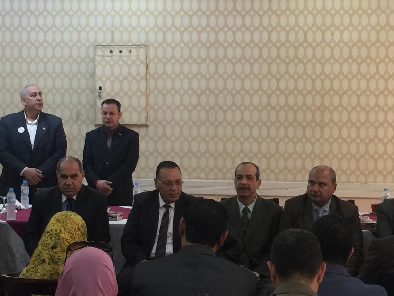 حفل إفطار جماعي يجمع محافظ الشرقية وقيادات مركز الزقازيق