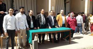 دوري الشهداء بجامعة الزقازيق