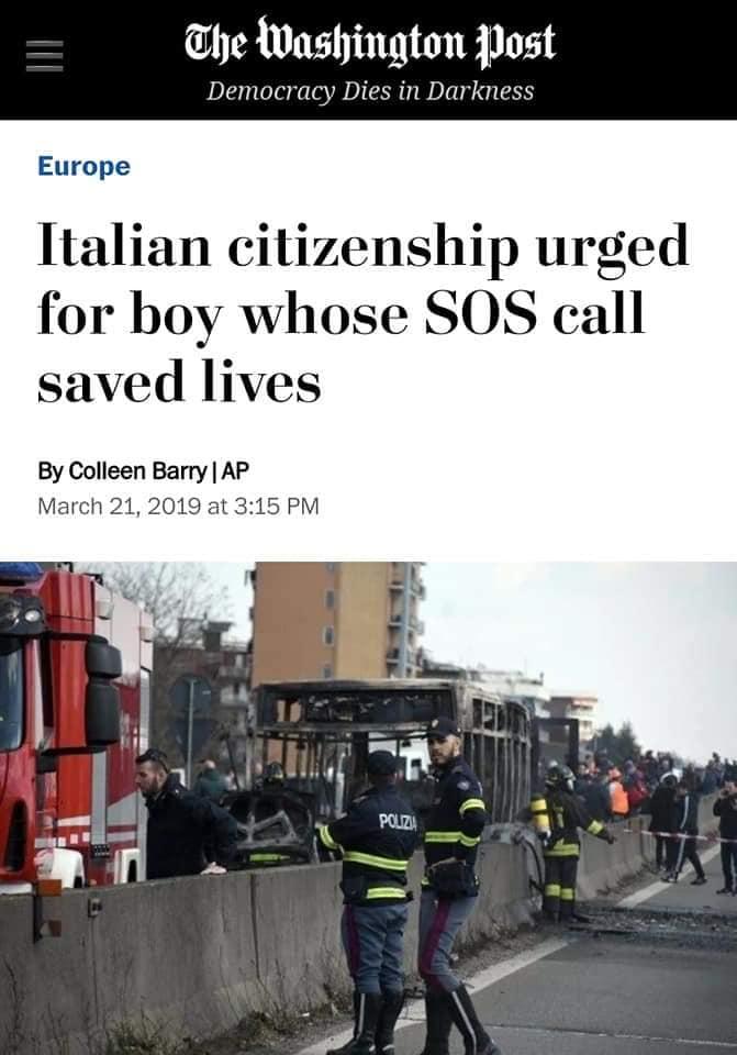 قصة طفل مصري ذكي أنقذ 51 إيطالي من الموت