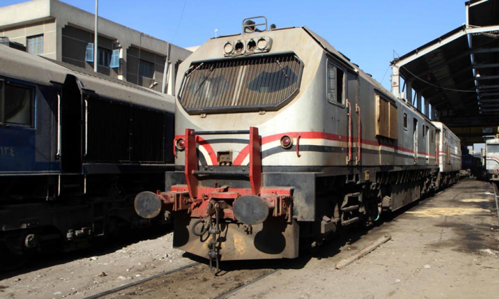 قطار محطة مصر