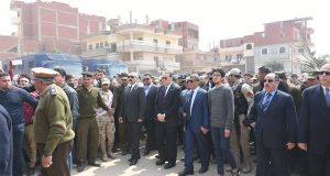 محافظ الشرقية ومدير الأمن يتقدمان جنازة النقيب «أحمد المسلمي»
