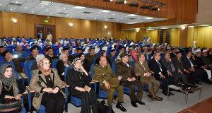 محافظ الشرقية يشيد باحتفالية قوات الدفاع الشعبي «يوم الشهيد»