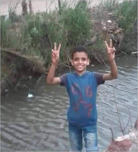 محمود خرج للمدرسة بالزقازيق ولم يعد
