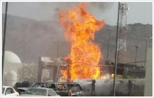 مصرع 8 وإصابة 7 عمال فى انفجار خزان أحد المصانع بالعين السخنة