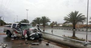 نصائح المرور لمنع وقوع الحوادث بسبب اﻷمطار