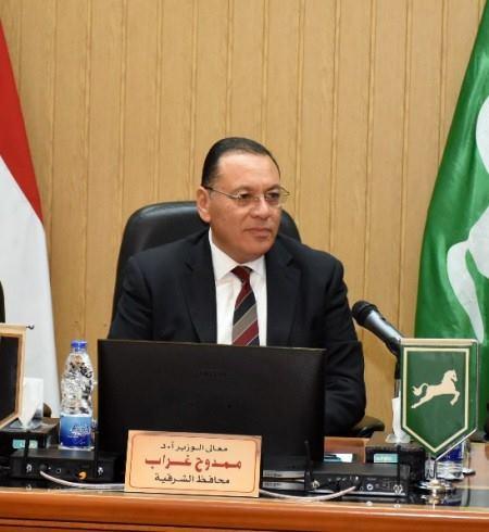 محافظ الشرقية يوقف نائب رئيس مدينة أبو كبير ورئيس المشروعات عن العمل
