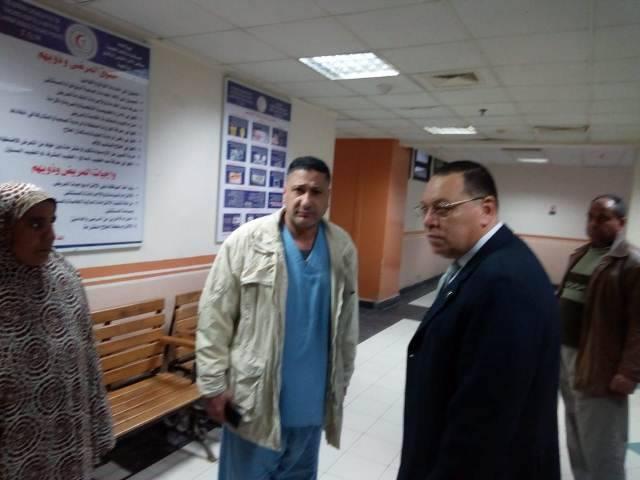 محافظ الشرقية في حملة مفاجئه على مستشفى الأحرار