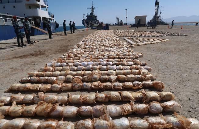 شحنة مخدرات ضبطت قبل الدخول لمصر
