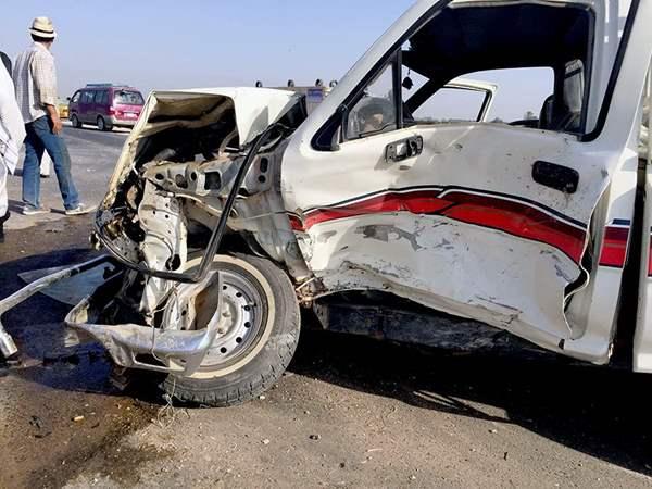 إصابة 17 شخص في حادث بالشرقية