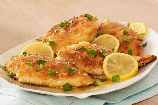 إفطار 29 رمضان 2019 بيكاتا فراخ وكرات البطاطس بالموتزريلا
