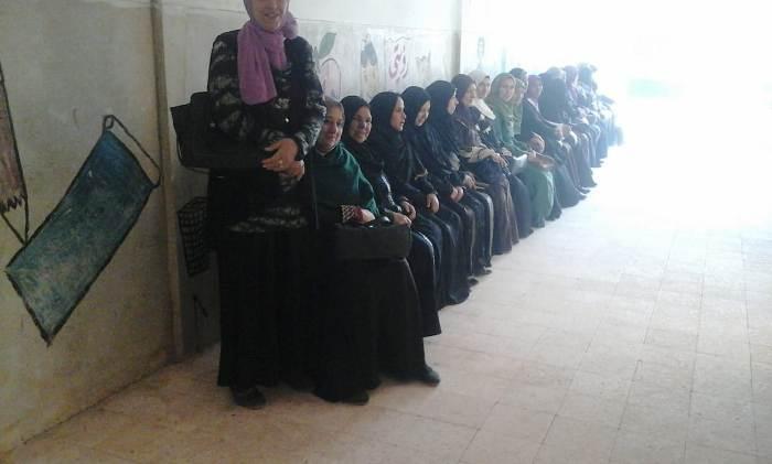 كبير من المواطنين على لجان الاستفتاء3