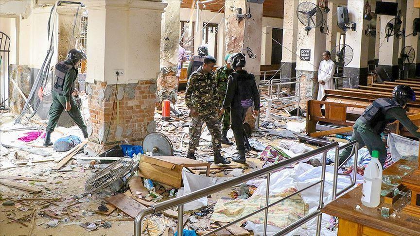 ارتفاع عدد ضحايا تفجيرات سريلانكا إلى 310 شخص