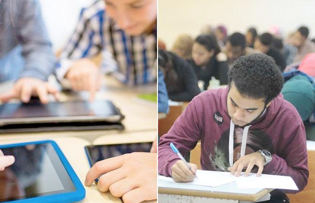 التعليم تحذر طلاب أولى ثانوي من 5 أشياء فى امتحان مايو الإلكتروني