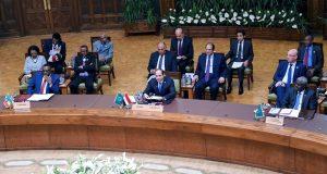 السيسي يترأس قمة الاتحاد الأفريقي للتشاور بشأن قضايا القارة
