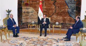 السيسي يوجه رسالة لحفتر بشأن أحداث ليبيا