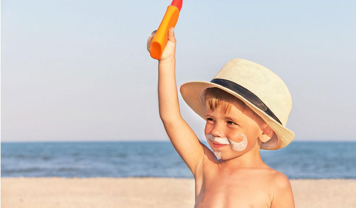حماية البشرة من شمس فصل الصيف