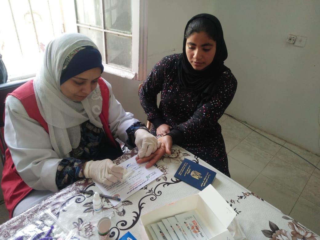 المبادرة الرئاسية ١٠٠ مليون صحة للأجانب بمحافظة الشرقية2