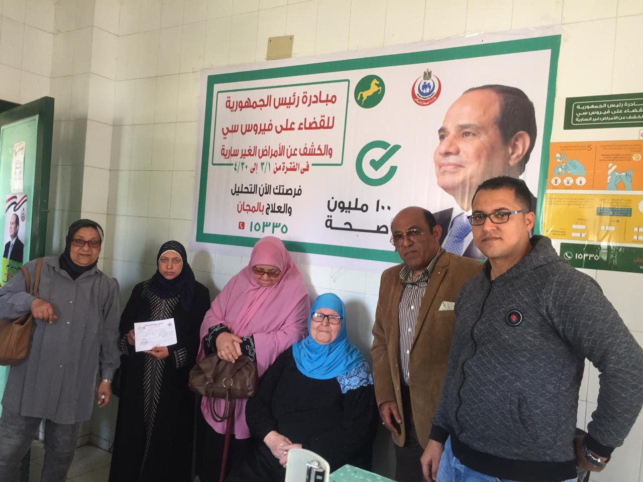 المبادرة الرئاسية ١٠٠ مليون صحة للأجانب بمحافظة الشرقية8