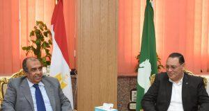 تصريحات وزير الزراعة أثناء زيارته للشرقية