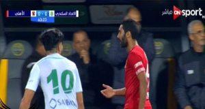 لحظة انفعال حسين الشحات