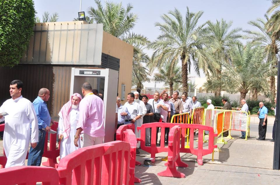 المصريون في الاستفتاء على التعديلات الدستورية في السعودية2