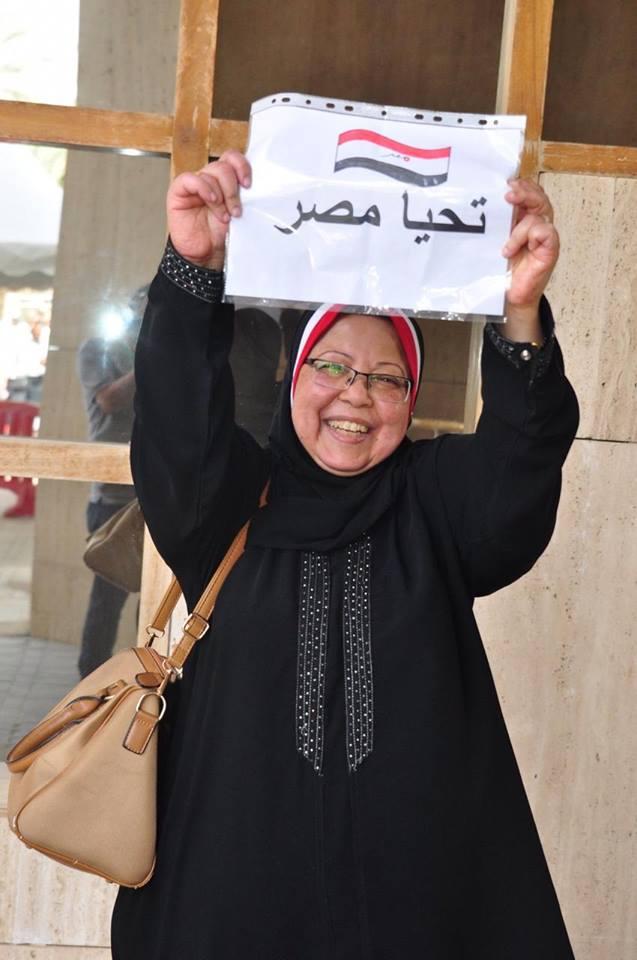 المصريون في الاستفتاء على التعديلات الدستورية في السعودية4