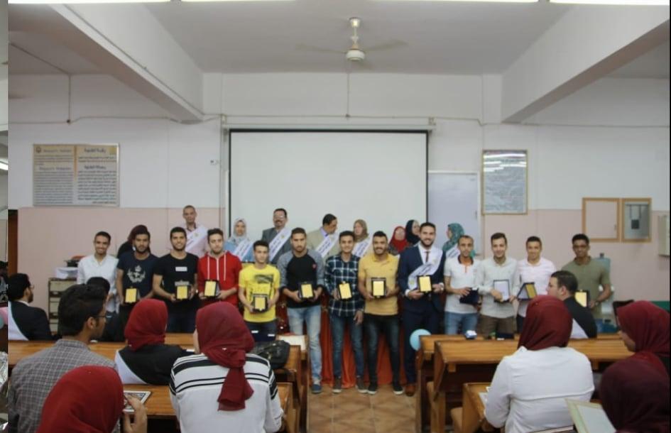 تنصيب اتحاد طلاب كلية الصيدلة بالزقازيق4