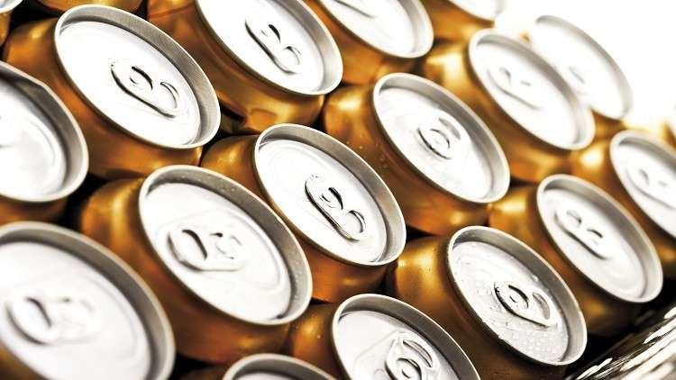 العلب المعدنية للمشروبات الغازية
