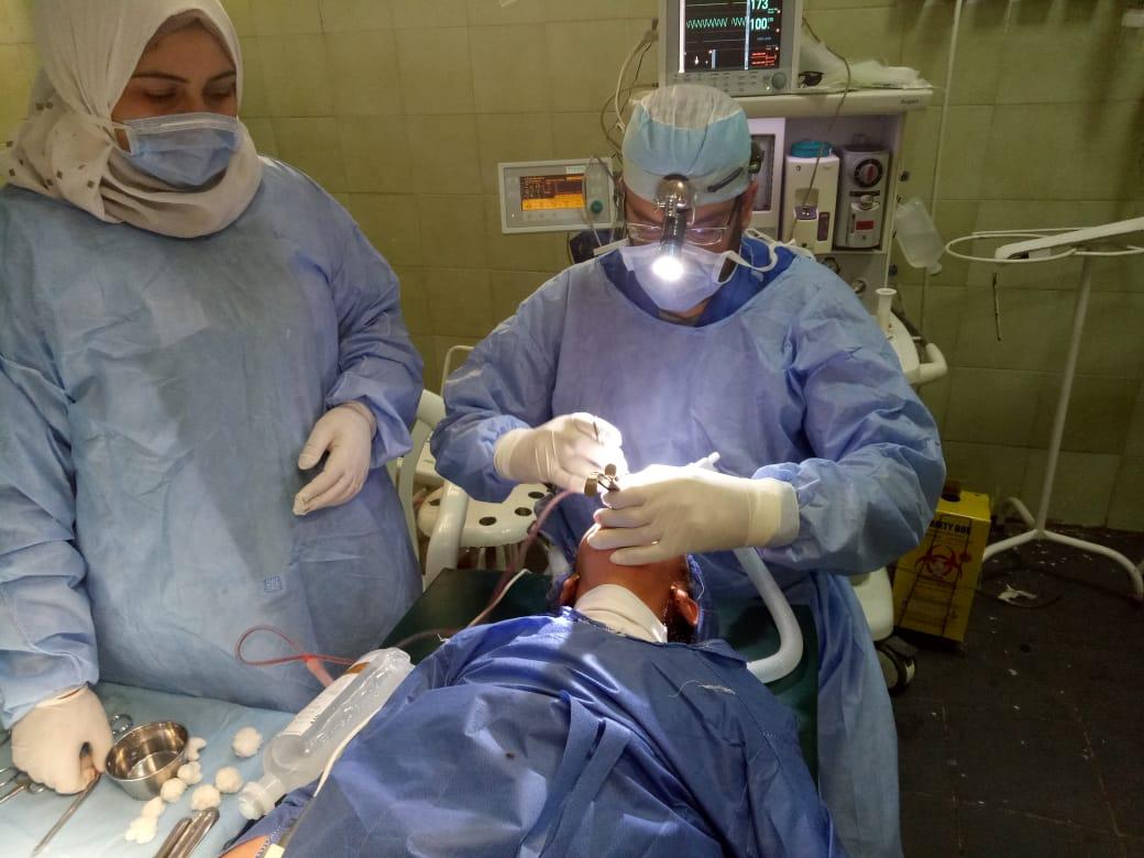 عمليات جراحية بمستشفي فاقوس