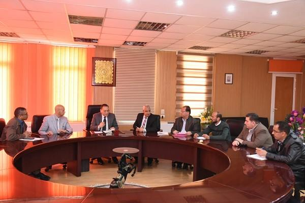 الشرقية يعقد اجتماعاً لتذليل العقبات أمام تسليم مشروع مستشفى طواريء فاقوس