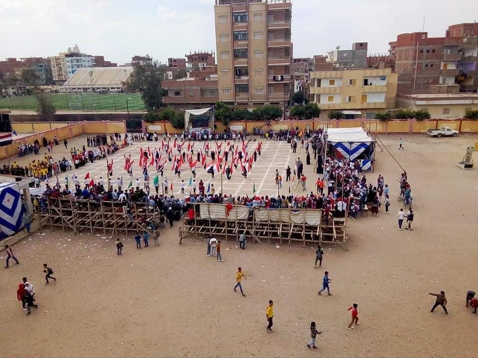 معرض ختام الأنشطة بإدارة أبوكبير التعليمية