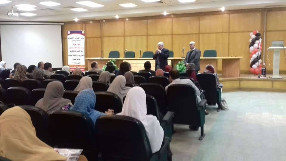 ورشة عمل عن الامتحانات الإلكترونية بجامعة الزقازيق