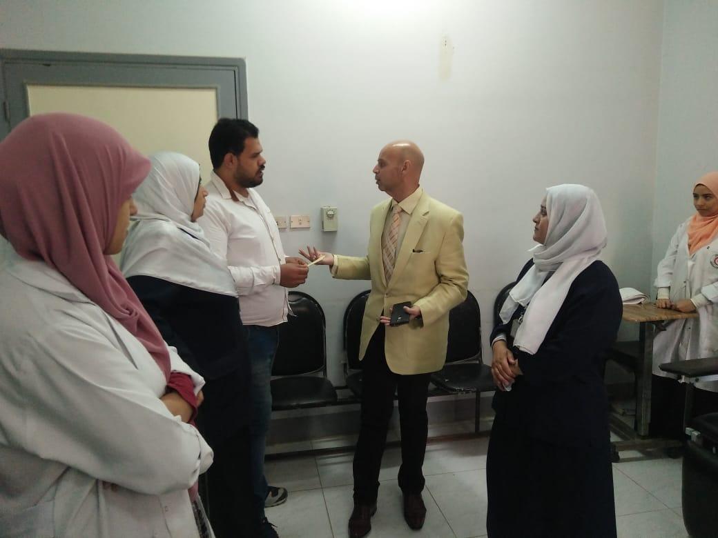 وزارة الصحة بالشرقية يتابع المبادرة الرئاسية بالزقازيق