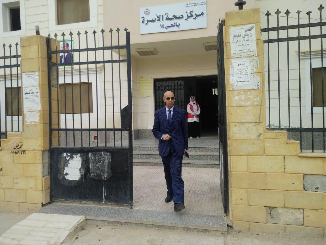 وزارة الصحة بالشرقية يتابع المبادرة الرئاسية بالعاشر من رمضان2