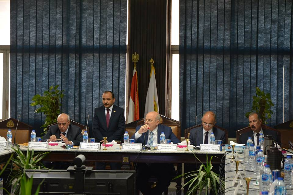 10 قرارات لجامعة الزقازيق في اجتماع مجلس الجامعة