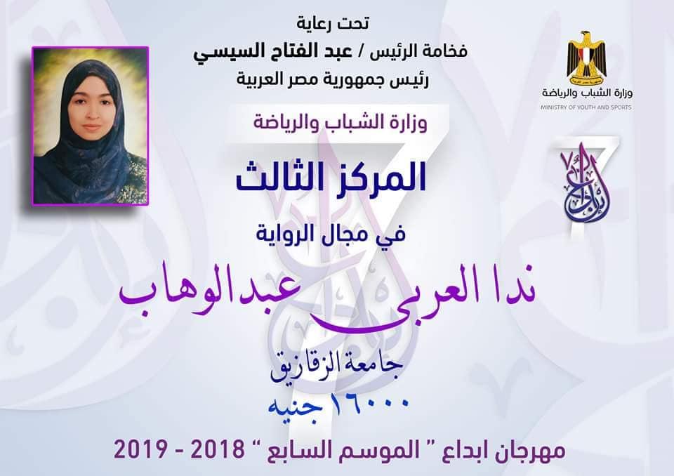 الفائزين بمهرجان إبداع بالشرقية في الموسم السابع